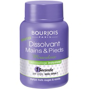 BOURJOIS DISSOLVANT MIRACULEUX 1 SECONDE 2 EN 1 9ML
