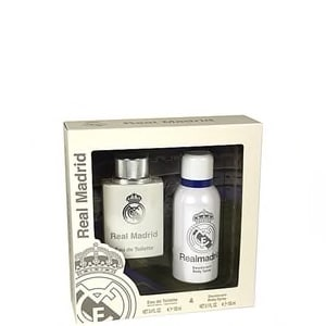 REAL MADRID EAU DE TOILETTE 100ML+DEODORANT